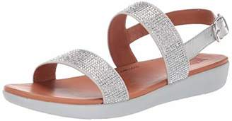 FitFlop Women's BARRA CRYSTALLED Sandal