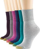 Gold Toe 6-pk. Turn-Cuff Socks