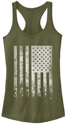 Fifth Sun Juniors' American Flag Racerback Tank