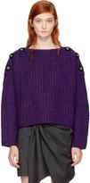 Isabel Marant Purple Free Sweater