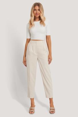 Chloé B X NA-KD Pleat Suit Pants