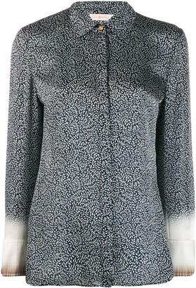 Tory Burch Printed Long Sleeve Shirt