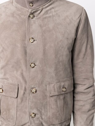 Valstar High-Neck Suede Jacket