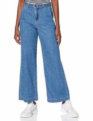 Vero Moda Women's VMKATHY SHR Wide D Ring Jeans GU352 Trouser