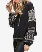 Free People Northern Lights Oversized Sweatshirt