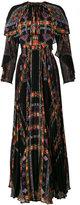 Etro Pleated Maxi Dress