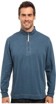 True Grit Cashmere Heather Fleece 1/2 Zip Pullover