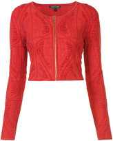Sophie Theallet cropped zip jacket