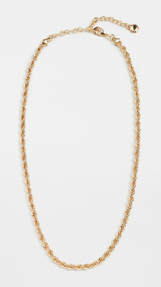 BaubleBar Twist Choker Necklace