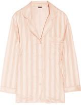 Bodas Striped Cotton Pajama Top
