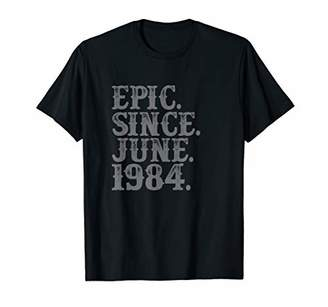 Vintage Epic Since June 1984 Birth Year Legend Awesome Gifts T-Shirt