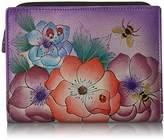 Anuschka Anna By Handpainted Leather Women's Wallet Wallet