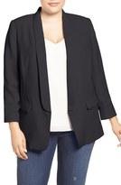 Vince Camuto Plus Size Women's Open Front Blazer