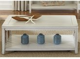 Liberty Dockside II White Castered Weaved Rope Cocktail Table