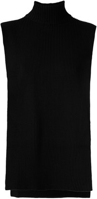 Gloria Coelho Turtle Neck Knit Vest