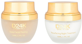 D24K by D'OR D'or 24K Luxury Skin Care 2-In-1 Skin Renewal & Age Defying Beauty Rest Set