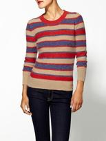 Vince THML Clothing Striped Crew Pullover