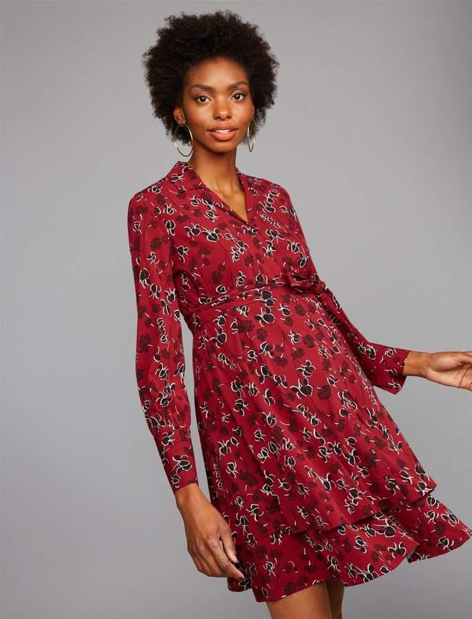 4e305a4f9f4 Maternity Black Tie Dress - ShopStyle