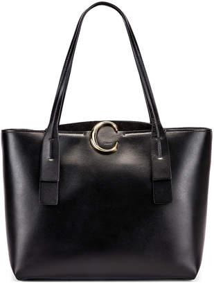 Chloé C Tote in Black | FWRD