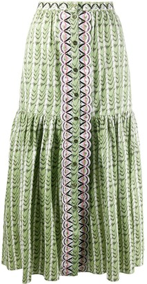 Temperley London Poet skirt