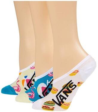 Vans Pool Party Canoodle 3-Pack (Multi) Women's Crew Cut Socks Shoes