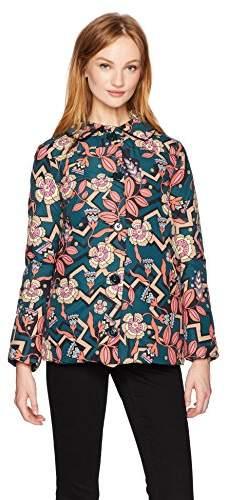 M Missoni Women's Printed Puffer Jacket