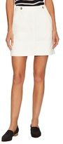 MiH Jeans Tam Cotton Denim Mini Skirt