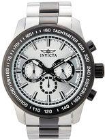 Invicta 21799 Silver-Tone & Black Watch