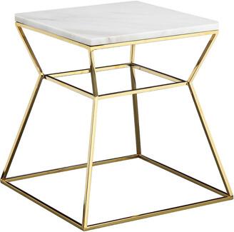 Pangea Gold Geo Side Table