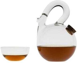 Laurence Brabant Tea Ball Teapot Clear