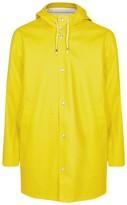 Stutterheim Stockholm Pale Yellow Rubberised Raincoat
