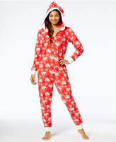 Briefly Stated Elf on the Shelf Hooded Pajama Union Suit