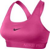 Nike Pro Classic Padded Sports Bra (Pink/Black)