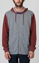 RVCA Men's Crucial II Zip Hoodie