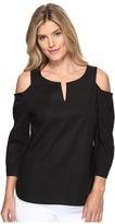 NYDJ Agnes Cold Shoulder Top Women's Clothing