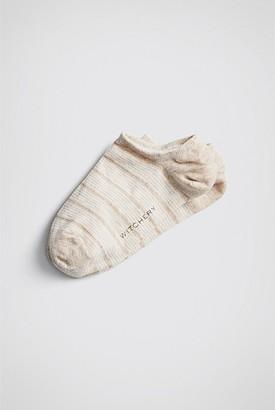 Witchery Stripe Sneaker Sock