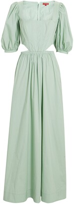 STAUD Astro Cut-Out Maxi Dress