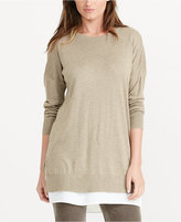 Lauren Ralph Lauren Petite Layered Long-Sleeve Sweater