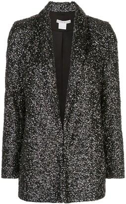 Alice + Olivia Jace embellished shawl collar blazer