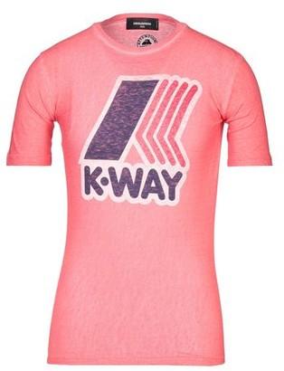 Dsquared2 X K Way DSQUARED2 x K-WAY T-shirt