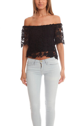 Nightcap Clothing Caribbean Crochet Crop Top
