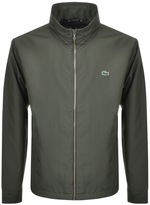 Lacoste Full Zip Jacket Green