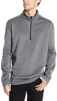 Calvin Klein Men's Long Sleeve 1/4 Zip Heavy Interlock Sweatshirt