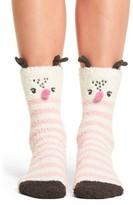 PJ Salvage Women's Stripe Plush Socks