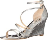 Badgley Mischka Women's Carnation II Wedge Sandal