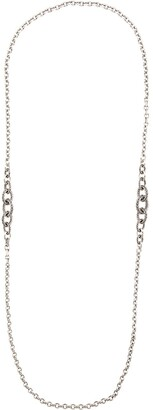 John Hardy Classic Chain Silver Knife Edge Link necklace