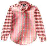 Brooks Brothers Little/Big Boys 4-20 Non-Iron Gingham Long-Sleeve Button-Down Shirt