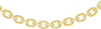 ADINAS JEWELS Cubic Zirconia Chain-Link Choker Necklace