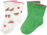 Gymboree Watermelon Dot Sock Two-Pack