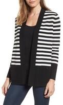 Anne Klein Women's Malibu Stripe Cardigan